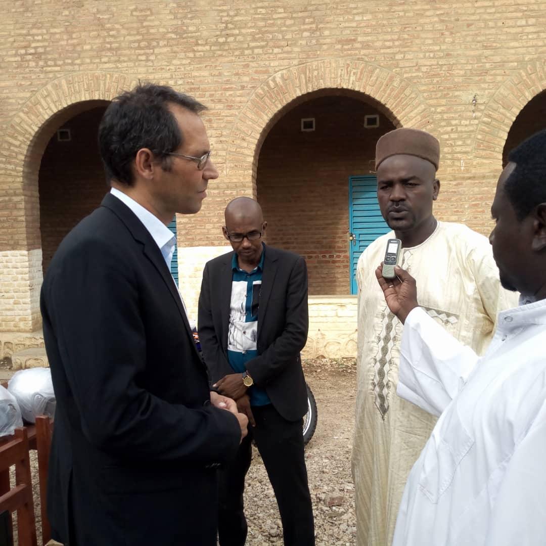 Tchad : un appui de la coopération allemande GIZ au comité départemental d'action de Ouara. © Alwihda Info