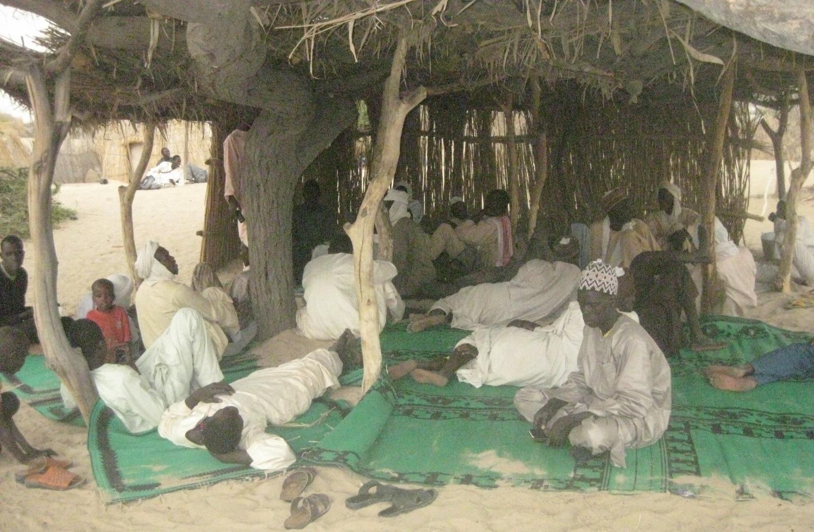 Des repentis de Boko Haram le 31 mars 2018 au Lac Tchad. © CEDPE