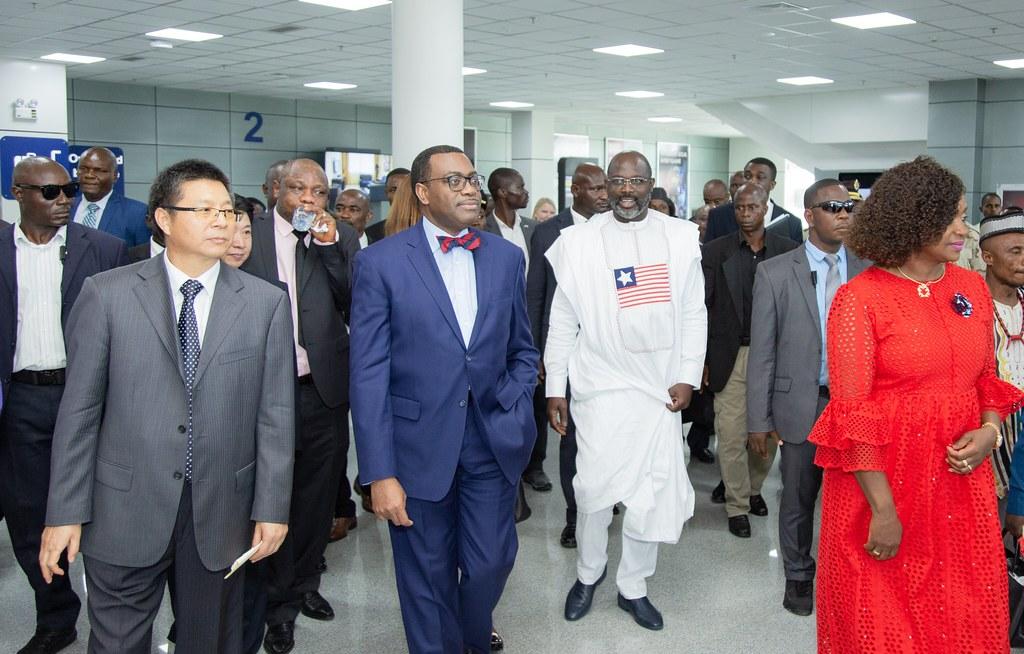 Le président libérien George Weah envisage une nouvelle banque agricole pour une révolution économique. ©Afdb