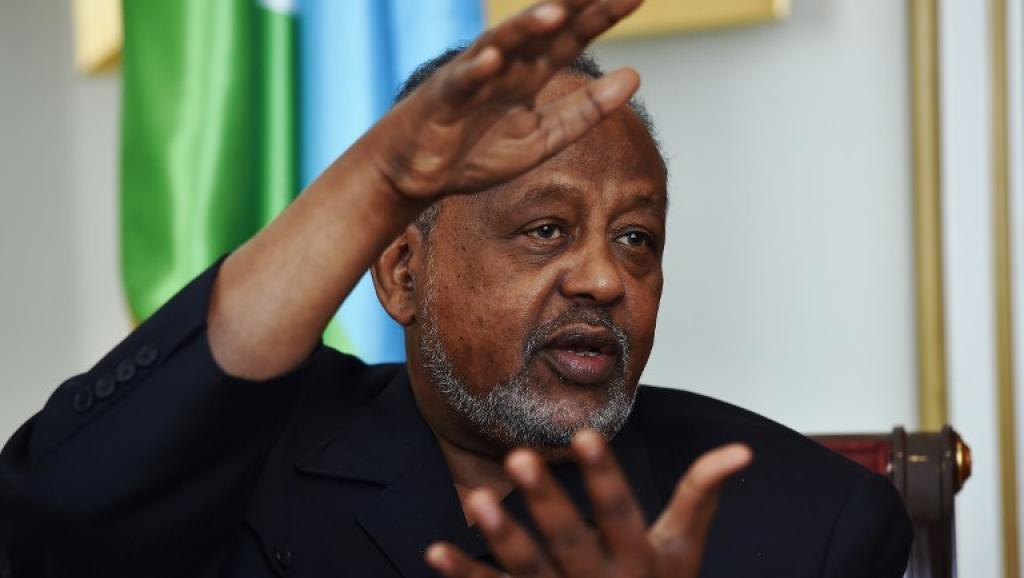 (Photo d'illustration) Ismaïl Omar Guelleh, président de Djibouti. © AFP PHOTO/Carl de Souza