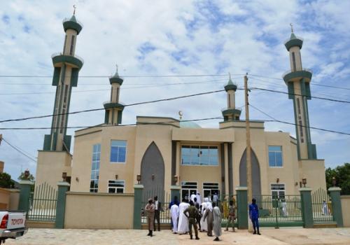 Tchad : la mosquée Idriss Déby Itno inaugurée à N'Djamena. © PR