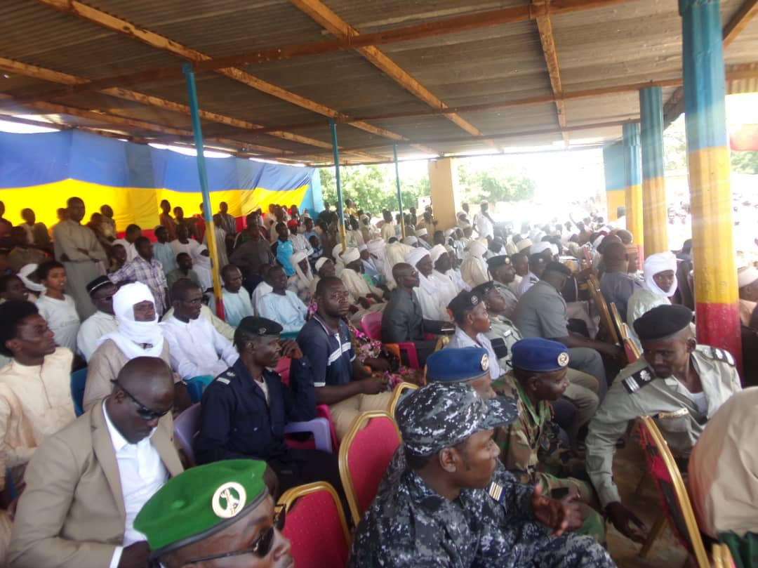 Tchad : au Sila, le nouveau gouverneur Kedallah Younous Hamidi installé dans un contexte sécuritaire difficile. © Alwihda Info