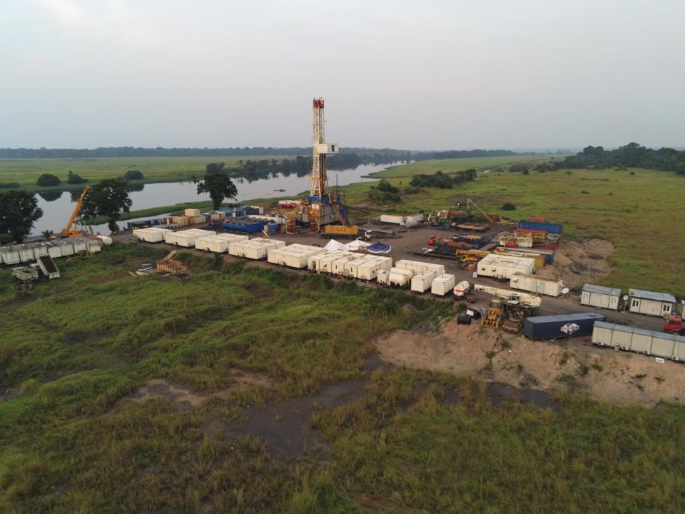Le champ pétrolier Delta de la Cuvette.