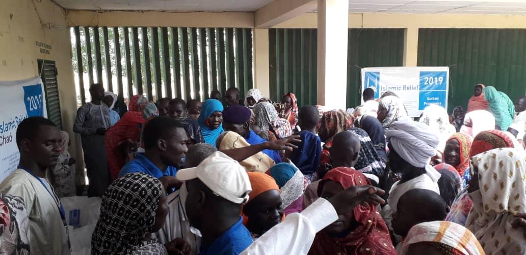 Tchad : Islamic Relief distribue de la viande aux familles pour l'Eid-el-Adha