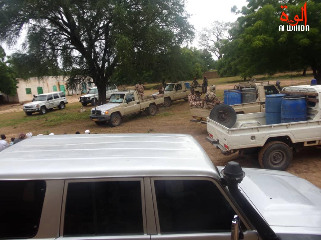 Des forces de sécurité ce dimanche 11 août 2019 à l'Est du Tchad. Illustration. © Alwihda Info