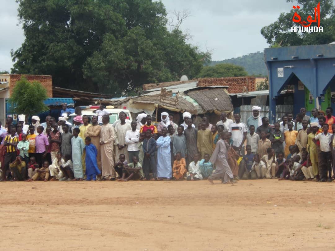 Tchad : cérémonie de prise d'armes à Goz Beida, au Sila, ce lundi 12 août 2019. © Alwihda Info