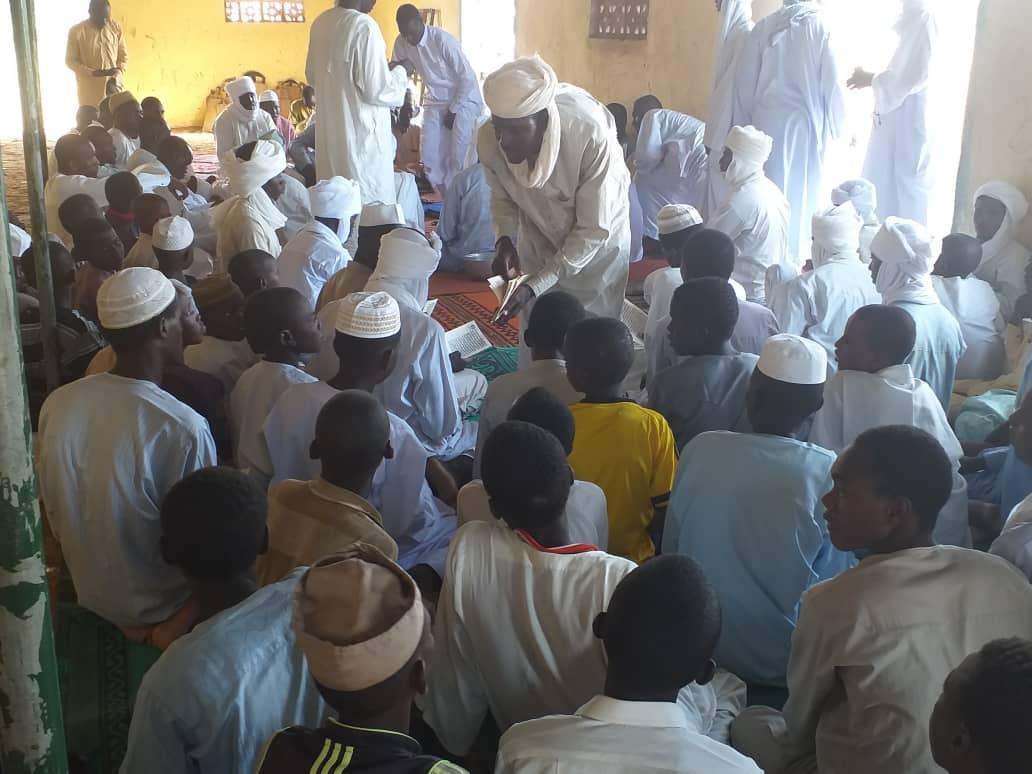 Une mission conduite par Yacoub Saleh Ourada s'est rendue dimanche 11 août 2019 à Amdoud, un village de la sous-préfecture d'Abéché rurale situé à 50 km de la ville. © Alwihda Info