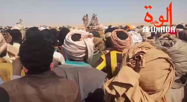 Des orpailleurs ce mardi 13 août 2019 à l'extrême nord du Tchad. © Alwihda Info