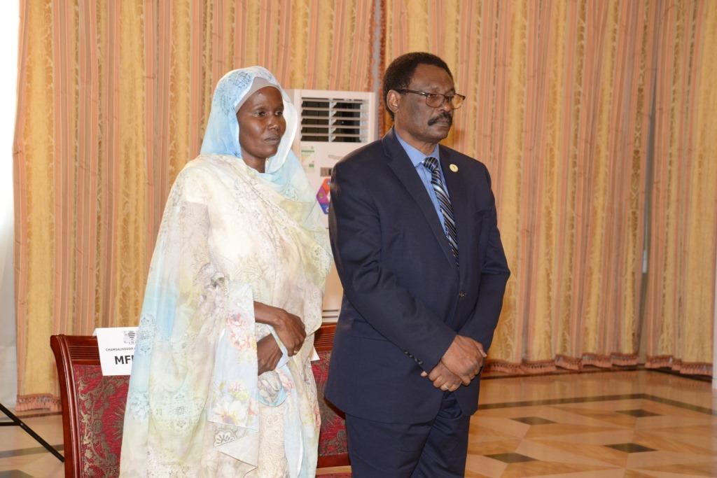 Tchad : prestation de serment de deux nouveaux ministres ce mardi 13 août 2019. © PR
