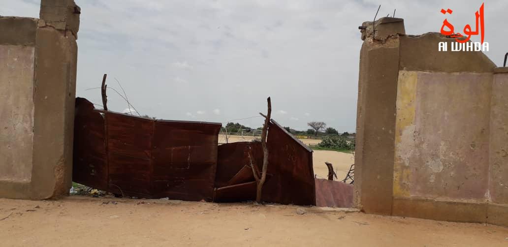 Tchad : le stade municipal d'Abéché aux oubliettes. @ Alwihda Info