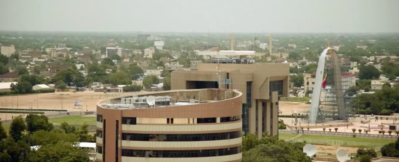 Une vue de N'Djamena. Illustration. © DR