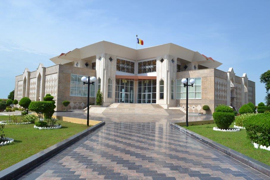 Présidence du Tchad. © PR
