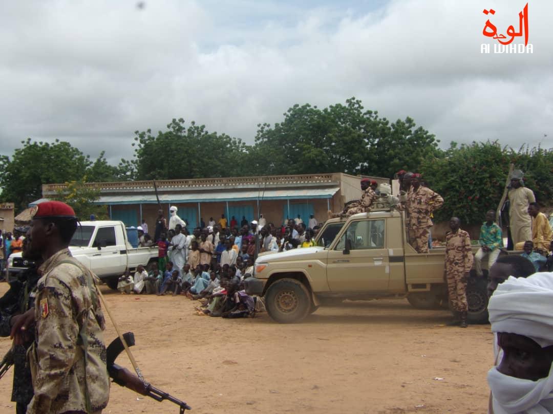 Des militaires à Goz Beida, dans la province de Sila. Illustration. © Alwihda Info