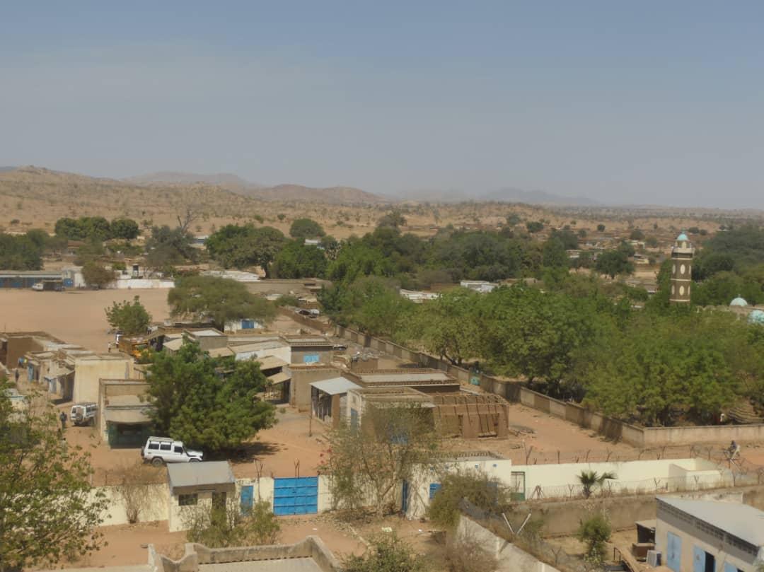 Une vue de la ville de Goz Beida, chef-lieu de la province de Sila. © Alwihda Info