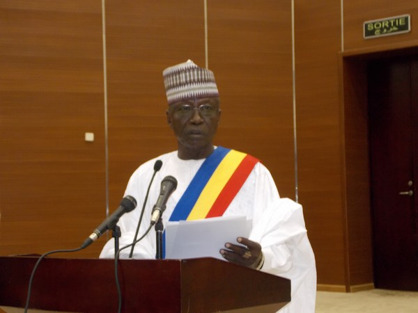 Le président du CESC, Abdelkérim Ahmadaye Bakhit. © Alwihda Info