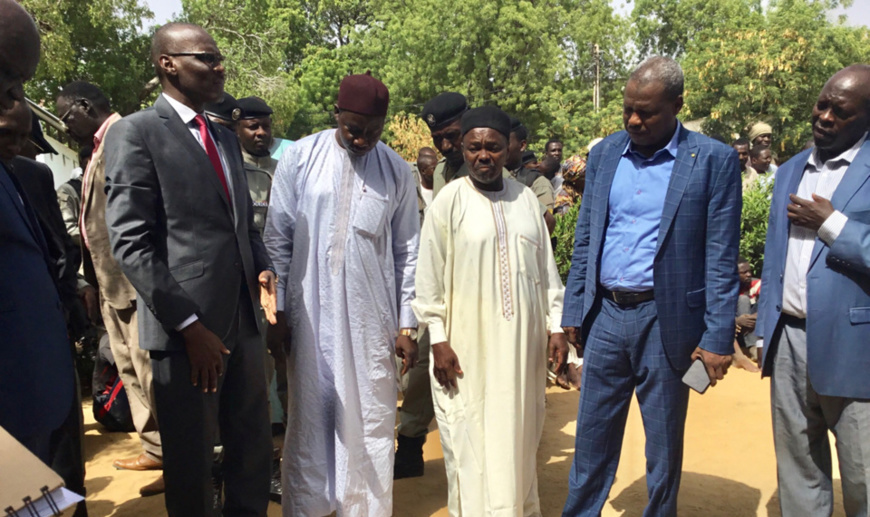 Le directeur général de la police, le procureur de la République et des responsables sécuritaires à N'Djamena. Illustration. ©Alwihda Info