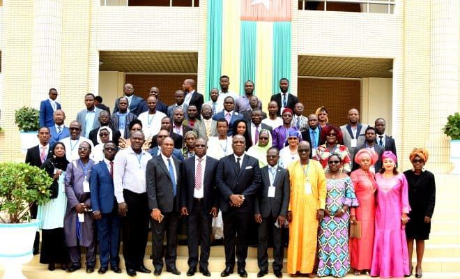 Les participants à la réunion de Lomé.  © Togo Presse