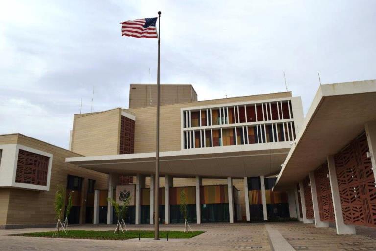 """Tchad : l'Ambassade des USA appelle à un """"règlement pacifique des conflits"""". © DR"""