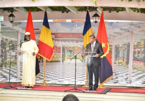 Idriss Déby veut de la viande tchadienne sur le marché angolais. © PR