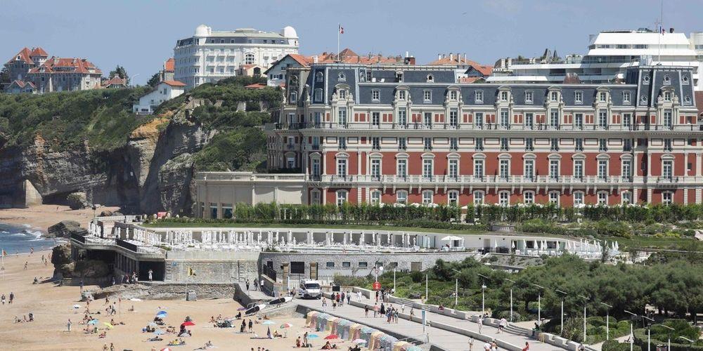 Biarritz s'apprête à accueillir le G7 LUDOVIC MARIN AFP