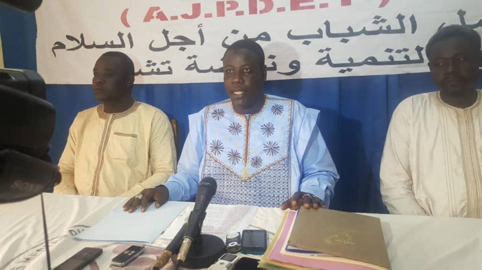 Le président de l'AJPDET, Mahamat El Mahadi Abdramane. ©Alwihda Info