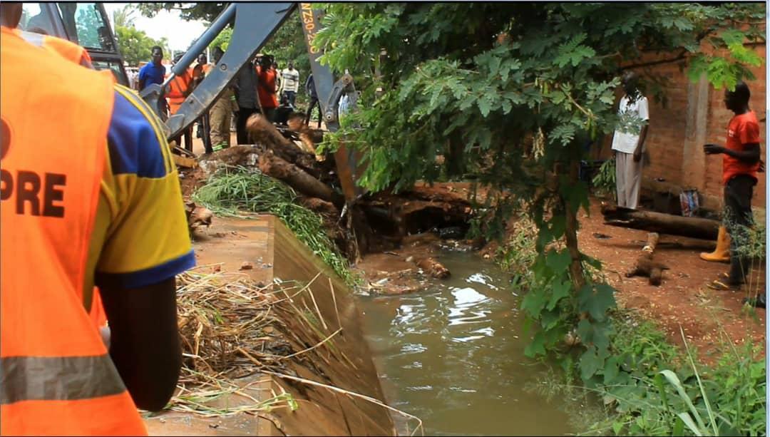 Tchad : des inondations à Moundou, le maire déplore l'incivisme. © Alwihda Info