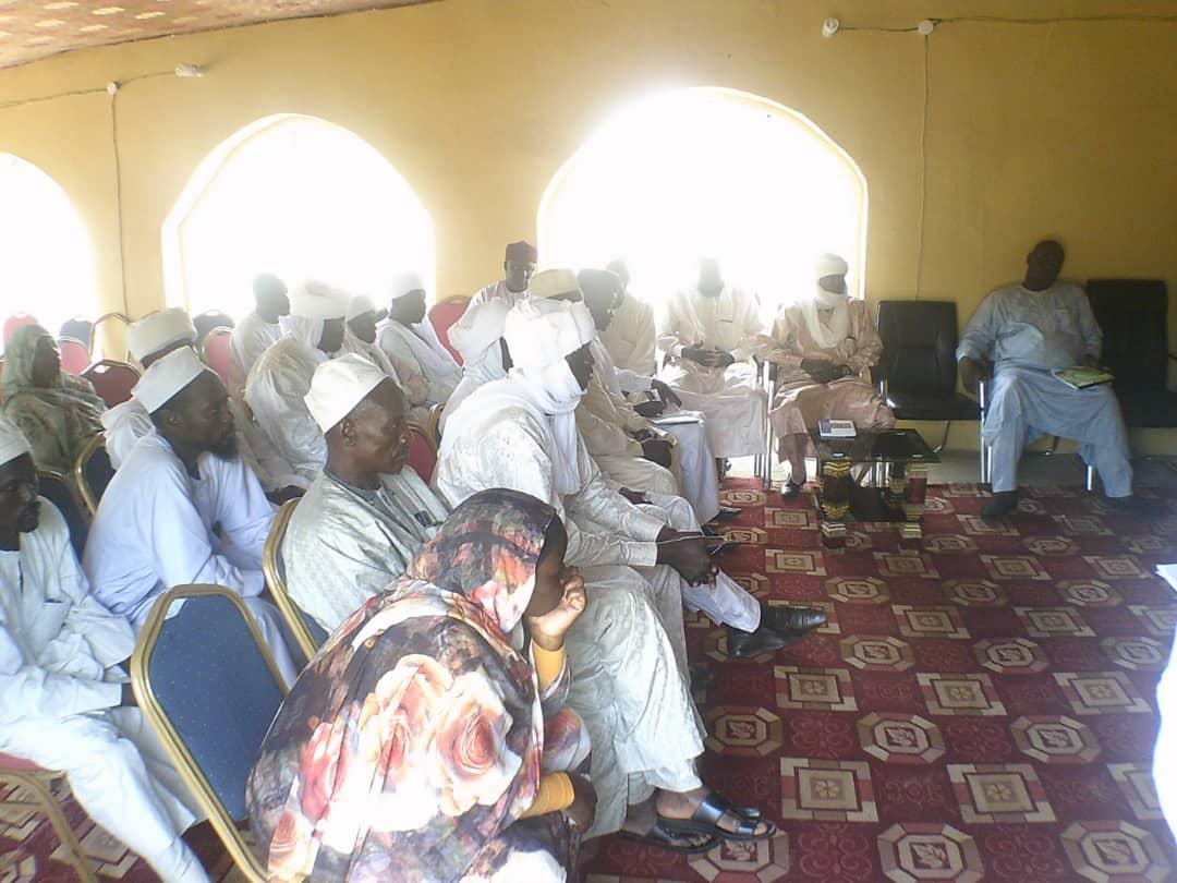 Tchad : le gouverneur de Sila rencontre les commerçants et chefs administratifs. © Alwihda Info