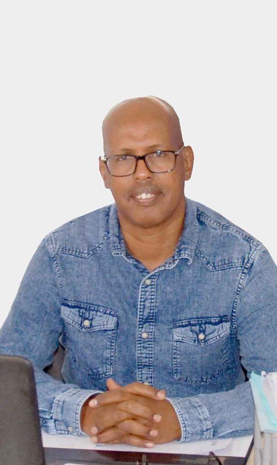 Farah Abdillahi Miguil, président de l'ODDH. © DR