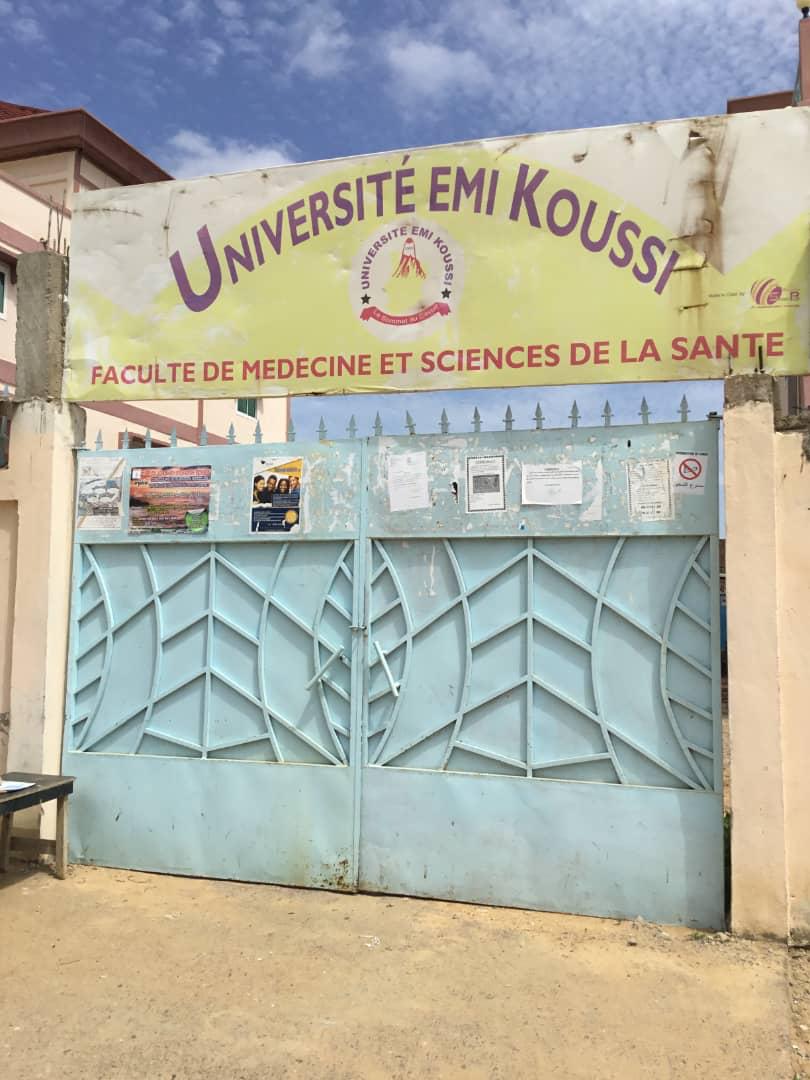 La Faculté de médecine et sciences de la santé de l'Université Emi Koussi. © Alwihda Info