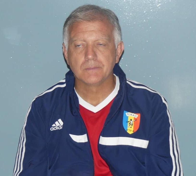 Le nouveau sélectionneur de l'équipe tchadienne de football, Emmanuel Tregoat. © DR/ASENT SAO