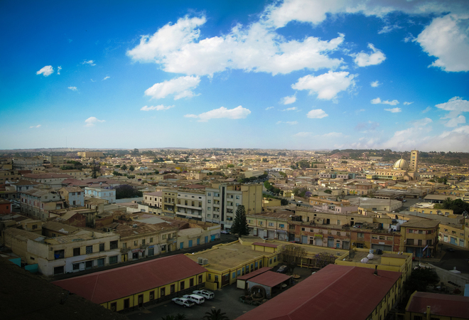 Eritrea's capital, Asmara — Source: iStock/Getty Images
