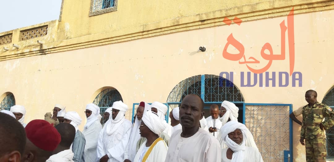 Tchad : Chérif Abdelhadi fait son entrée au Palais Royal d'Abéché. © Alwihda Info