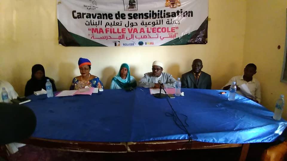 Tchad : à N'Djamena, une sensibilisation active pour la scolarisation des filles. © Alwihda Info
