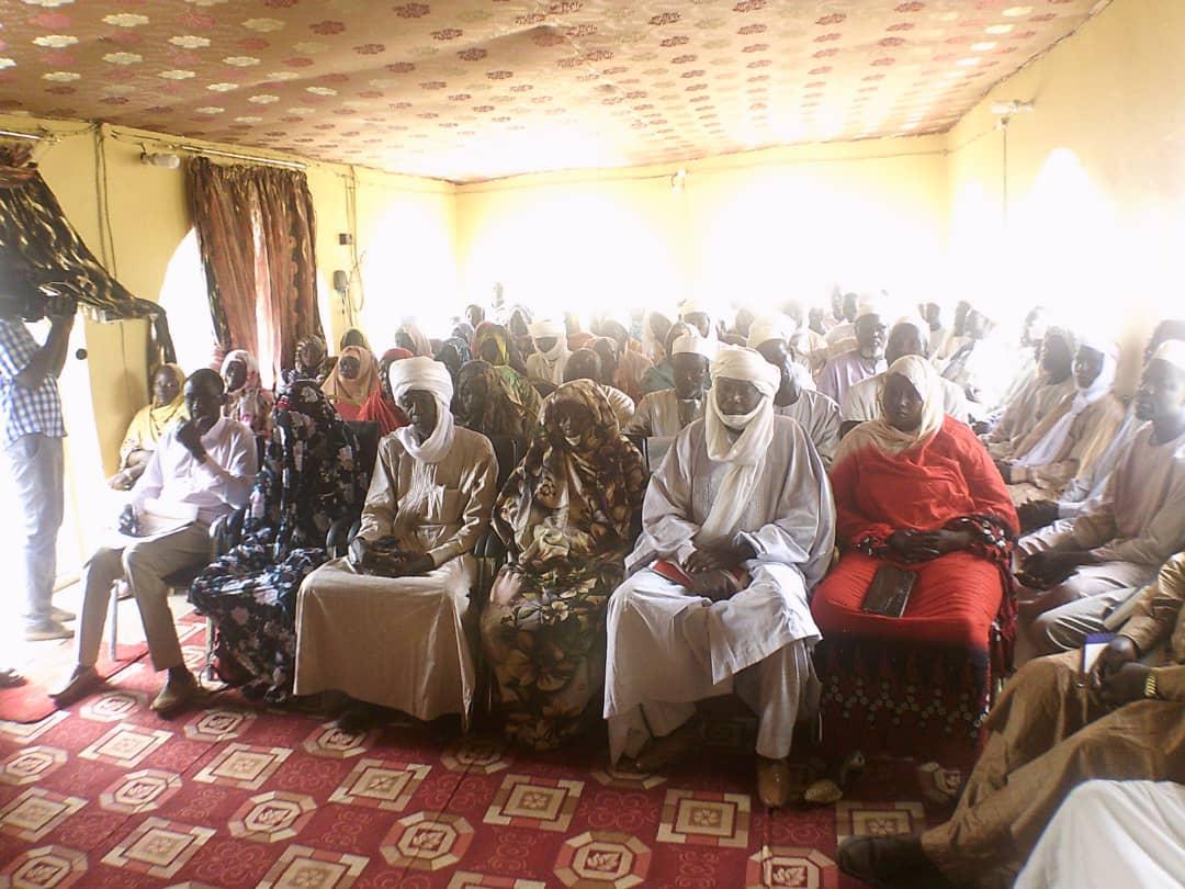 Tchad : au Sila, la société civile appelée à s'impliquer pour le désarmement et la paix. © Alwihda Info