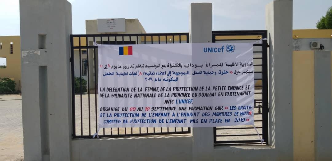 Tchad : des comités de protection de l'enfant formés sur les droits à Abéché. ©Alwihda Info
