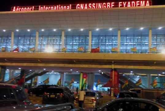 L'aéroport de Lomé au Togo. Illustration. ©DR