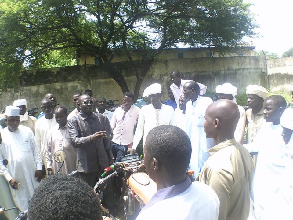 """Tchad : le maire de Goz Beida dément des """"rumeurs des réseaux sociaux"""". © Alwihda Info"""