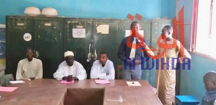Tchad : un nouveau proviseur au lycée national franco-arabe d'Abéché. © Alwihda Info