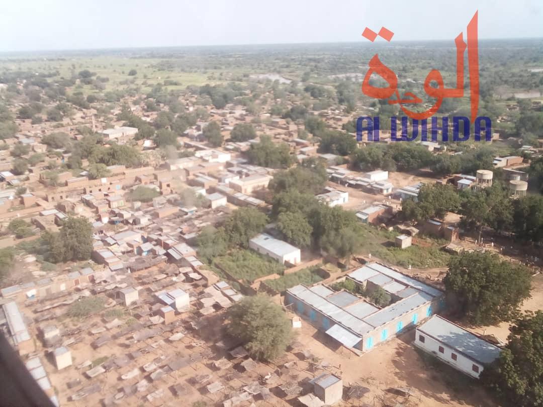 Tchad : le nouveau préfet de Djourouf Al Ahmar installé à l'Est. (Vue aérienne du département) © Alwihda Info