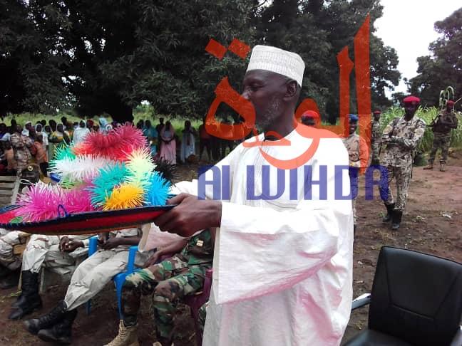 Le premier préfet du département de la Moula, dans la province du Mandoul, Abderamane Issa Doukarda, a été installé lundi 16 septembre 2019. ©Alwihda Info