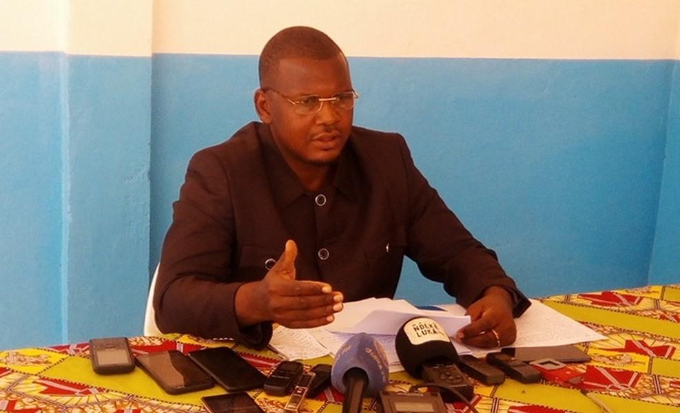 Porte-parole du FPRC, Aboubakar Ali Siddick.