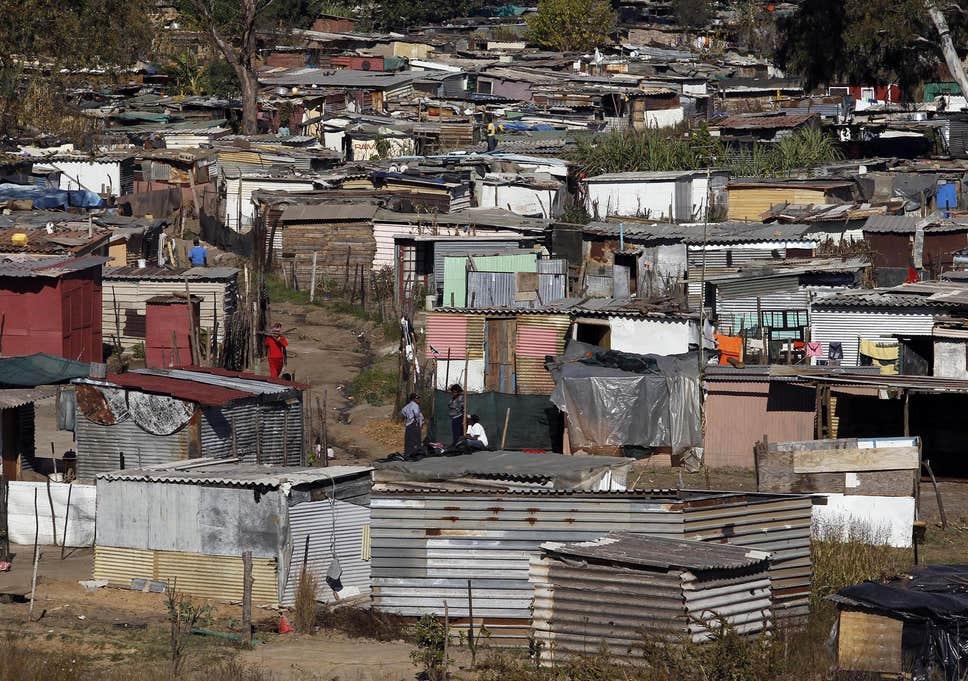 Johannesburg, South Africa. © DR
