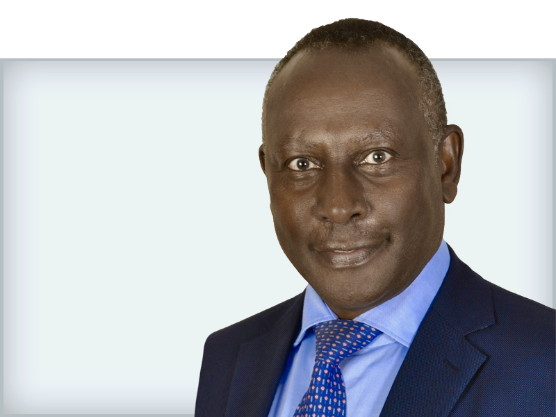 South Africa congratulates Mr Eddy Njoroge as the 1st African ISO president. © DR