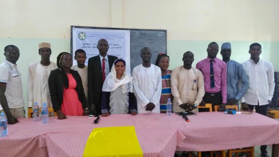 """L'association """"Jeunesse solidaire"""" de la Communauté économique et monétaire de l'Afrique centrale a lancé samedi ses activités à N'Djamena. © Alwihda Info"""