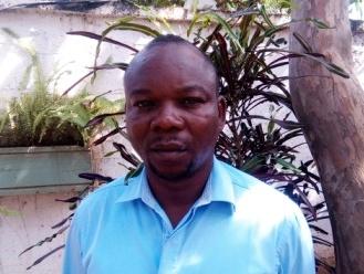 Vice-président du comité d'organisation des élections du bureau national du CNJCA, Michel Belford Gbangopé.