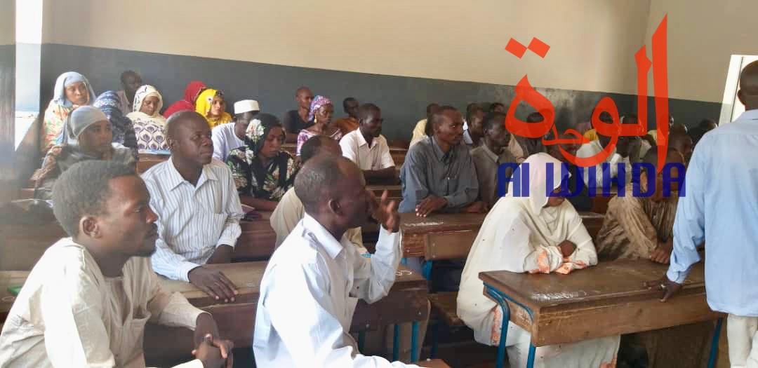 Tchad : 1148 candidats pour un test de contractualisation et d'entrée à l'école des instituteurs. © Alwihda Info