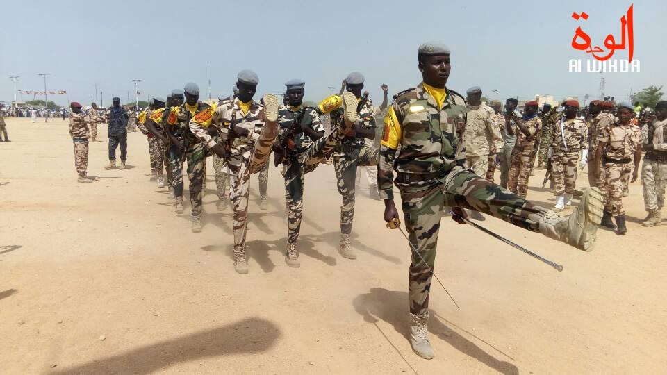 Illustration. Des militaires tchadiens lors d'un défilé. Crédits : AlWihda Info