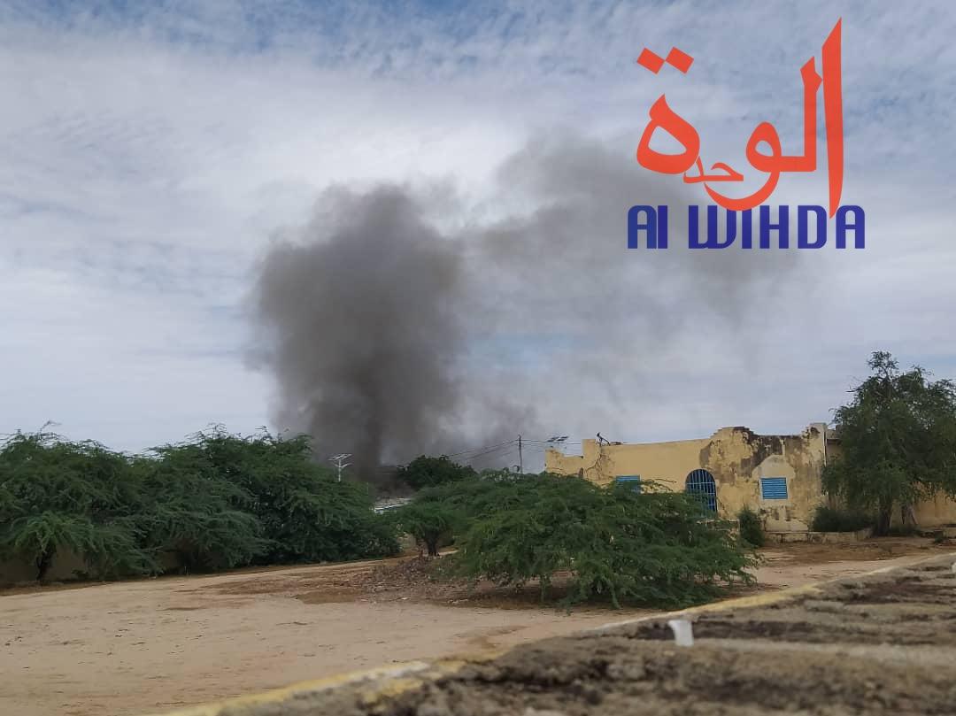 Tchad : la maison d'arrêt d'Abéché en feu, évasion de prisonniers. © Alwihda Info