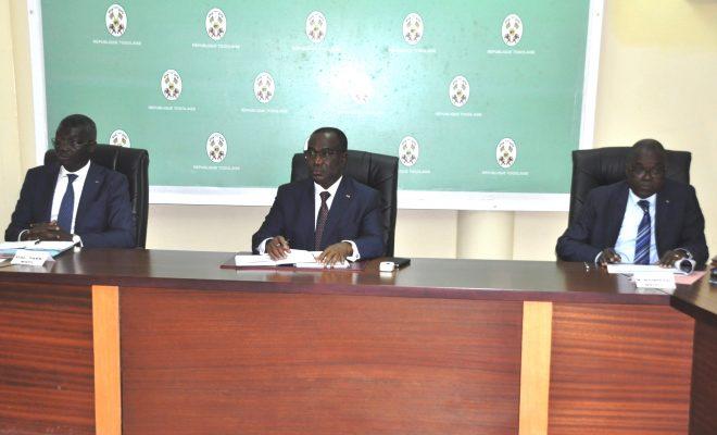Togo : le Premier ministre donne des directives à la plateforme nationale de gestion des risques et catastrophes. © Togopresse