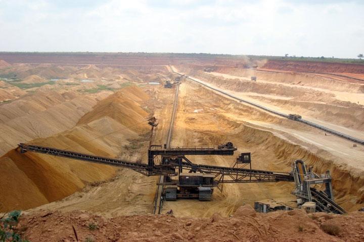 Le secteur minier au Togo. Illustration. © DR